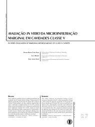 avaliação in vitro da microinfiltração marginal em ... - Unimep