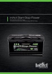 intAct Start-Stop-Power