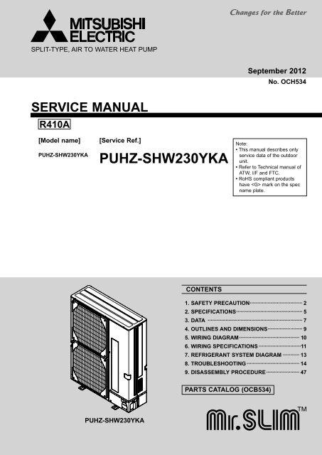 Puhz-shw230yka