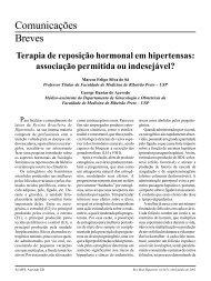 Terapia de reposição hormonal em hipertensas