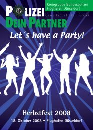 Let´s have a Party! - bei Polizeifeste.de