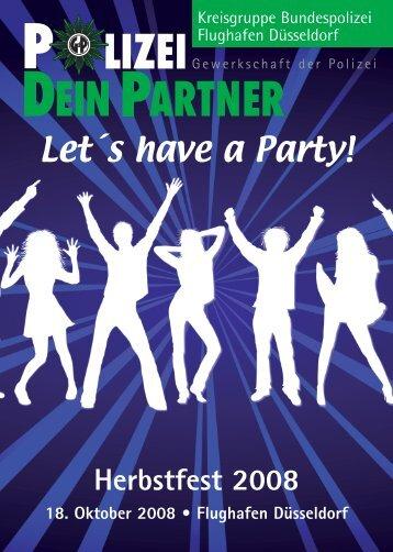 Let´s have a Party! - bei Polizeifeste.de
