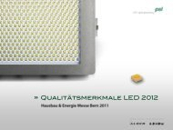 Präsentation Hausbau- und Energiemesse 2011 - PSL AG