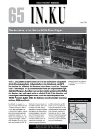 Seemuseum in der Kornschütte Kreuzlingen - Sgti