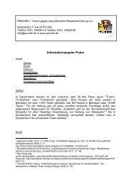 Informationspapier Puten - Verein gegen tierquälerische ...