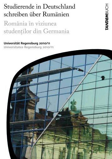 Studierende in Deutschland schreiben über Rumänien România în ...