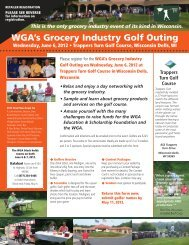 golf outing 2012_WGA - Wisconsin Grocers Association