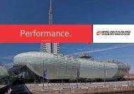 Performance. - Eiffel Deutschland Stahltechnologie Gmbh