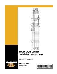 PNEG-1754 - Tower Dryer Ladders - GRAIN SYSTEMS INC.