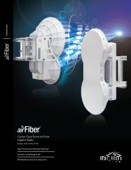 airFiber   Datasheet - Ubntstore.eu