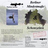Schonzeiten Berliner Mindestmaße - VDSF LV Berlin-Brandenburg ...