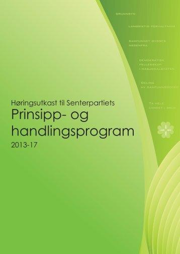 Senterpartiet - RORG-samarbeidet