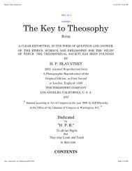 Key to Theosophy - United Lodge of Theosophists