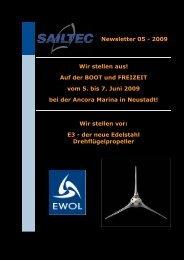 E3 Newsletter schwarz.htm - SAILTEC GmbH