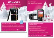 T-Mobile Member. Wir sind Smartphone. - ZA Justiz