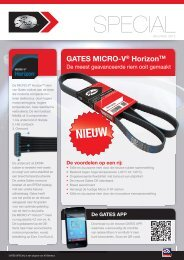 2012.510.24 Gates Special.indd - Auto Distribution Benelux
