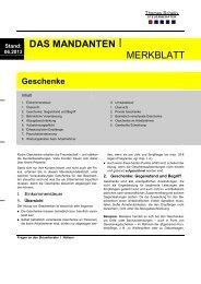 Geschenke 06 2013 - Steuerberater Hamburg