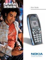 Nokia 3585i User Guide (PDF) - STi Mobile