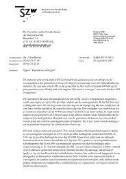 Bijstand en vermogen - Brief staatssecretaris aan ... - Inspectie SZW