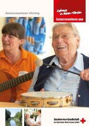 Broschüre vom Seniorenwohnen Olching (PDF) - Sozialservice ...
