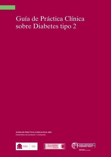Guía de Práctica Clínica sobre Diabetes tipo 2 - GuíaSalud