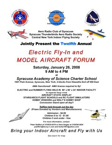 Electric Fly-In and MODEL AIRCRAFT FORUM - RC Universe