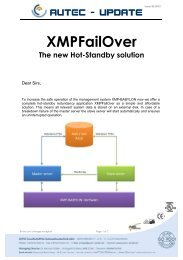 XMPFailOver - The new Hot-Standby solution (01.10.2012)