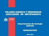 Peligro sísmico y fenómenos asociados en Antofagasta - Sociedad ...