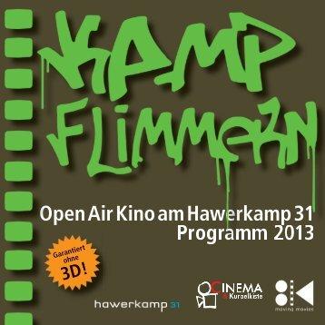 Open Air Kino am Hawerkamp 31 Programm 2013