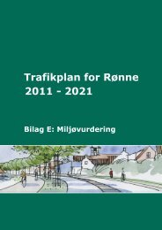 Trafikplan for Rønne 2011 - 2021 - Bornholms Regionskommune