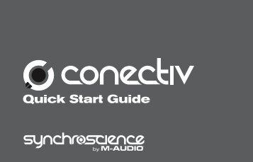 Conectiv Quick Start Guide - M-Audio