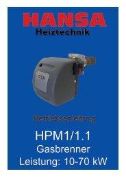 Serie HPM1 - Hansa Brenner