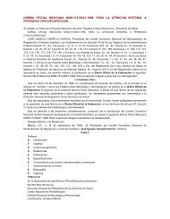 NOM-173-SSA1-1998 - Para la atención integral a las ... - CADI