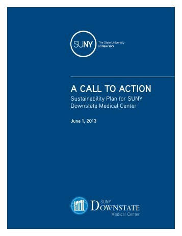 A CALL TO ACTION - The State University of New York