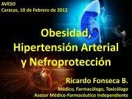 Obesidad, Hipertensión Arterial y Nefroprotección. Dr ... - Aveso
