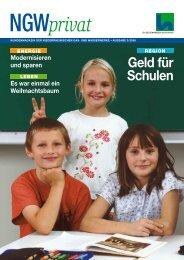 Kundenmagazin privat, Ausgabe 3/2006 (PDF, 2,3 MB) - ngw