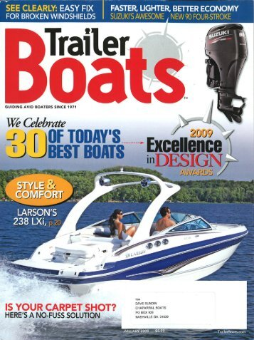 226 SSi ::: Excellence In Design ::: Trailer Boats