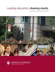 2011-12 - School of Education - Indiana University