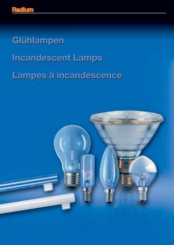 Glühlampen Incandescent Lamps Lampes à ... - lampia AB