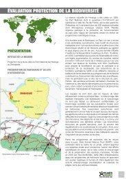 Protection de la faune dans le Parc National - Planète Urgence