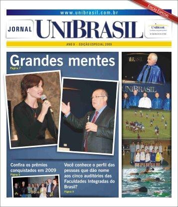 Grandes mentes - UniBrasil