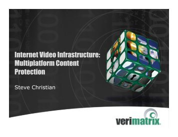 to View Verimatrix Presentation - CommNexus San Diego