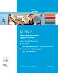 KURS 21 Einstiegsmaterialien [PDF] - Portal Schule Wirtschaft