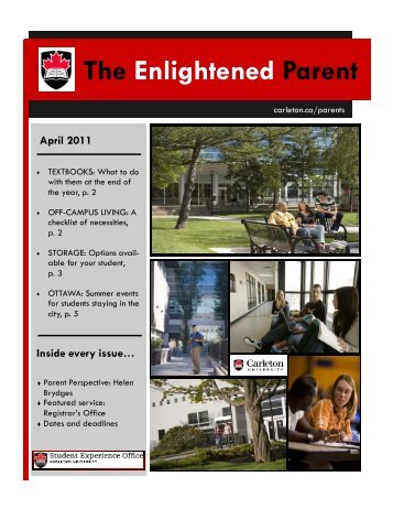 The Enlightened Parent - Carleton University