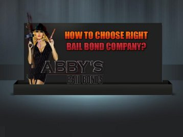 Bail Bonds in Tampa – Tips to Choose Bondsmen