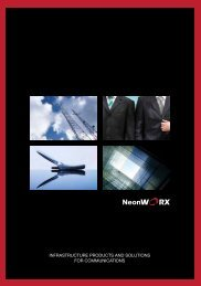 infrastructure products and solutions for communications