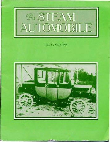 Contents - Steam Automobile Club of America