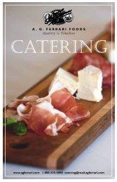 CATERING - A.G. Ferrari Foods
