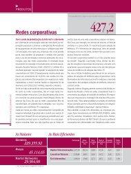 Redes corporativas - anuário telecom