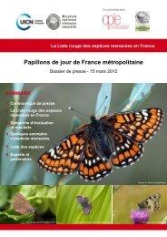 Papillons de jour de France métropolitaine - Comité français de l'UICN